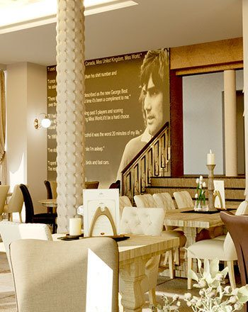 Tea At The George Best Hotel…